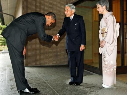Obama tuvo muchos problemas con este desproporcionado gesto.