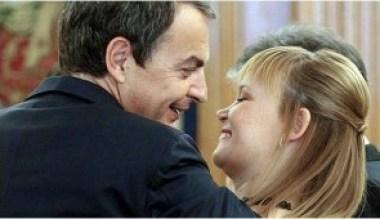 Zapatero y Pajín
