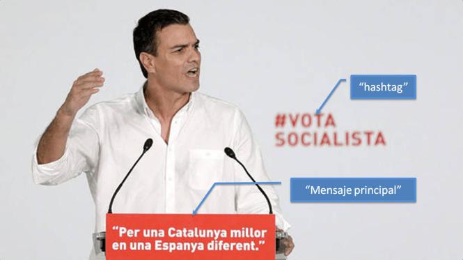 Los asesores del lider del PSOE no han podido hacer mejor su trabajo.