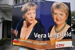 Frau Merkel & Frau Lengsfeld