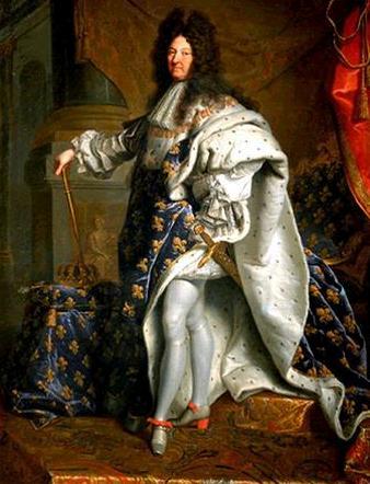 Luis XIV no utilizaba chándal.