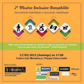 II Mostra Inclusiva DançaBilita (Parque Dona Lindu,2015)