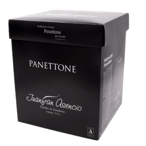 Caja Panettone Juanfran Asencio