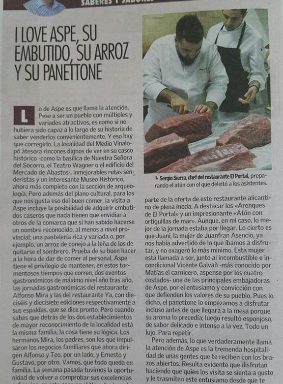 Panettone Aspe