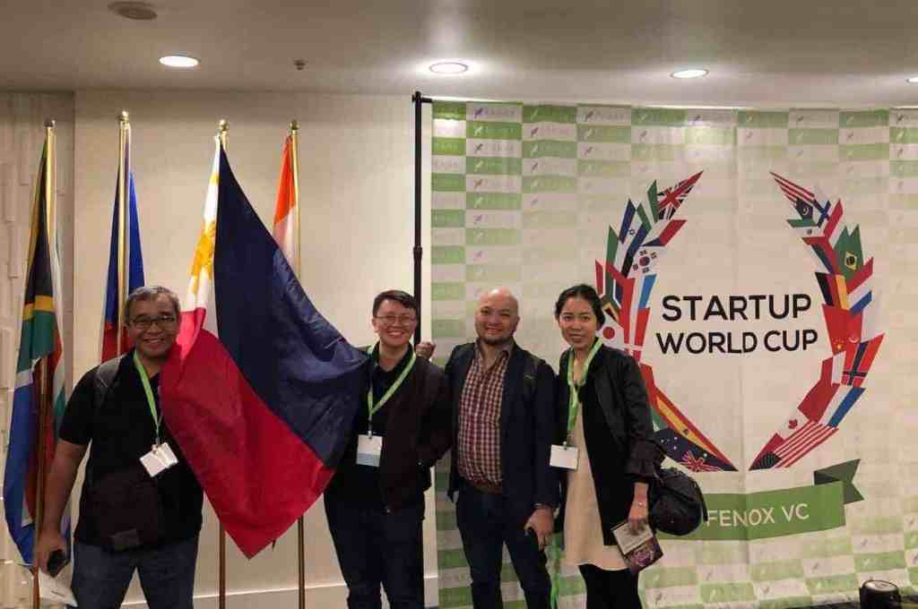 Representing the country  at the Startup Worldcup finals in SF in 2018