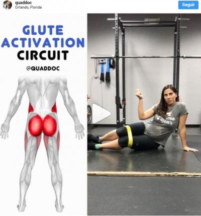 Ejercicios de activación de glúteos