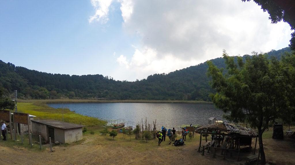 Foto de la Laguna Verde, Apaneca
