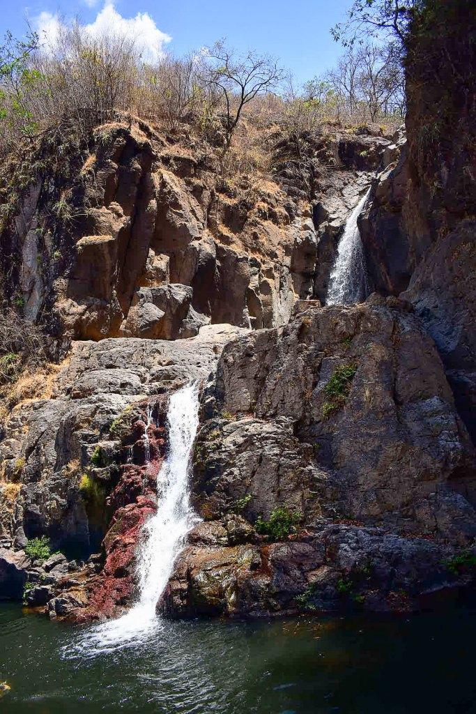 Cascada en Abril (Temporada seca)