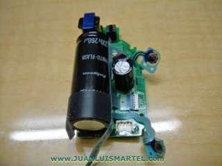 reparación cámaras digitales modulo o unidad de flash canon