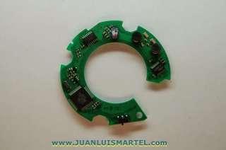reparación cámaras digitales mainpcb óptica canon