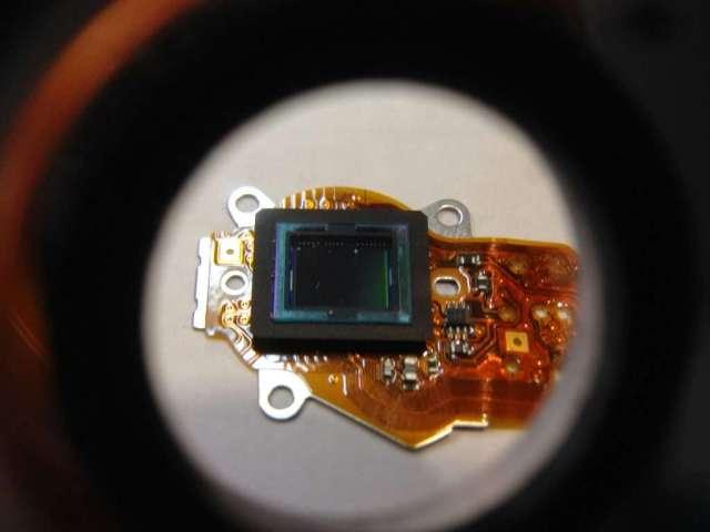 reparar camara digital limpieza de CCD