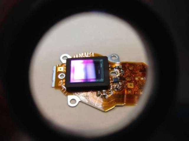 limpiar CCD camara digital