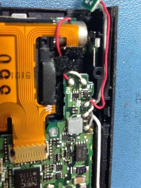 conexión de la optica rota de camara digital nikon