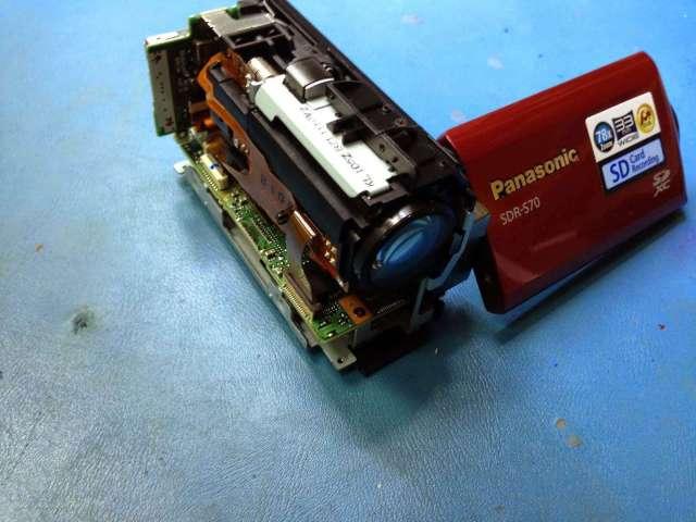 reparar camara digital panasonic