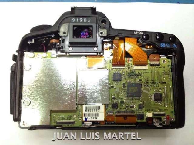 reparación cámaras digitales canon en Las Palmas