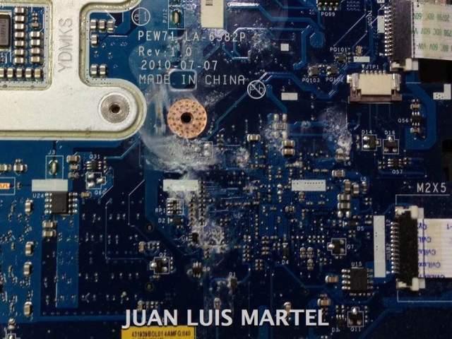reparar portátil soldar tarjeta grafica
