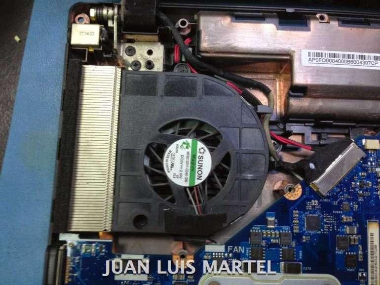 reparar portátil ventilador