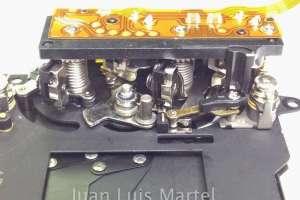Reparación de unidad de shutter en camara de fotos digital CANON EOS5D MK I