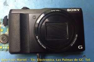 Reparación de camara de fotos digital SONY DSC-HS50