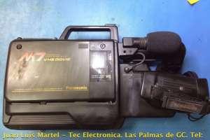 Reparación de video camara Panasonic NV-M7