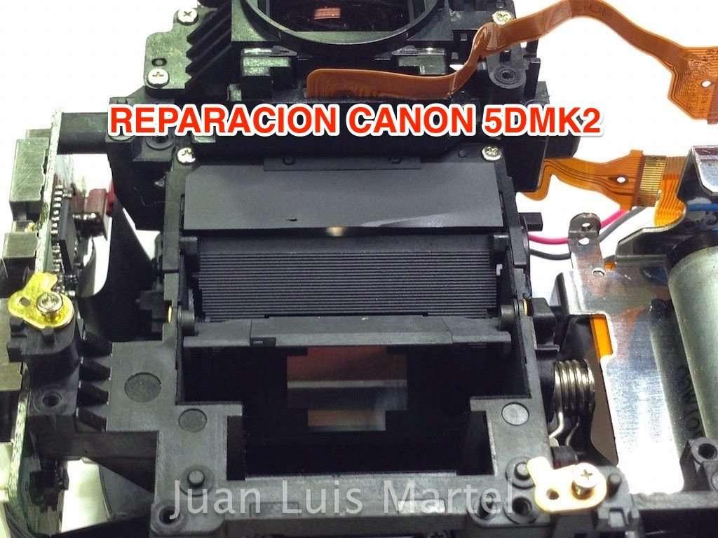 REPARACION CANON 5DMK2 SERVICIO TECNICO
