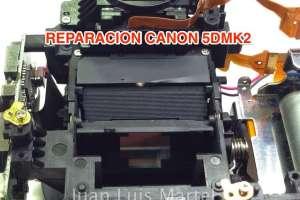 Reparacion de Mirror Box en camara de foto DSLR CANON 5D