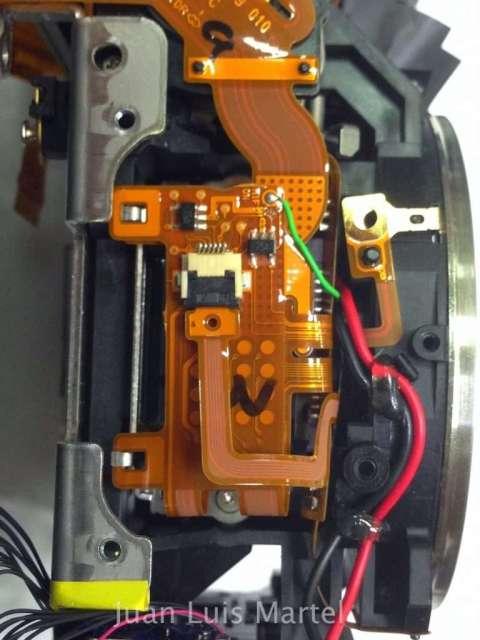 Reparacion Canon 5dmk2 problema de shutter