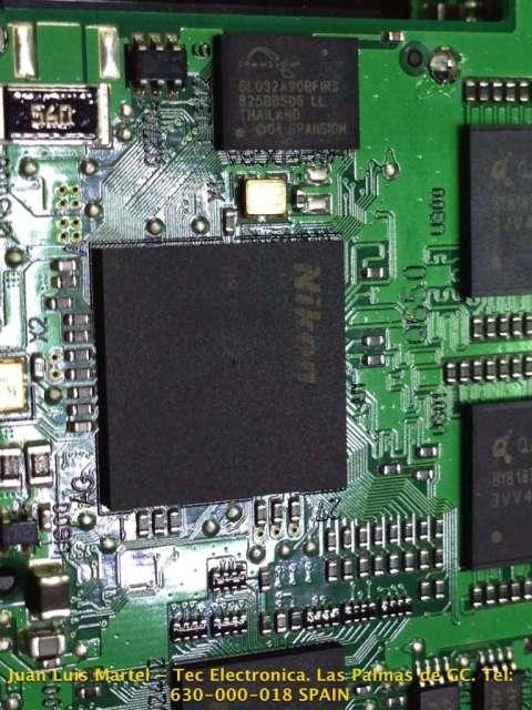 CPU de cámara fotográfica Nikon