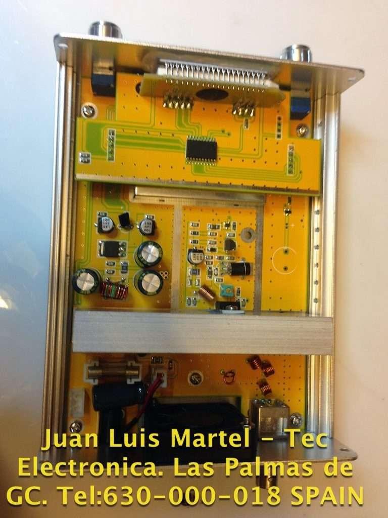 reparación de emisora de FM en Las Palmas de Gran Canaria. circuito interno de la emisora