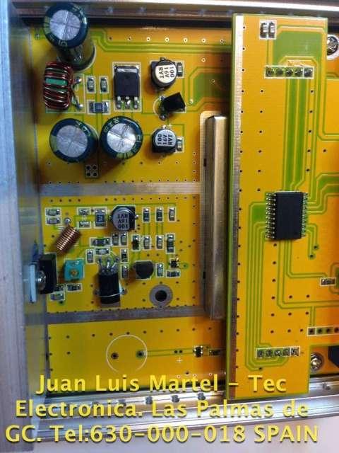 Circuito amplificador a mosFet de la emisora de FM 88 a 108
