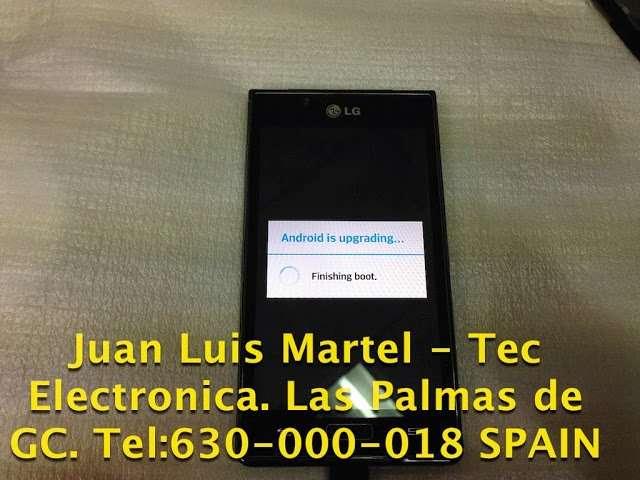 Servicio técnico de teléfonos LG en Las Palmas de Gran Canaria