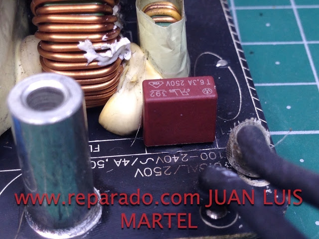 reparación iMac power supply