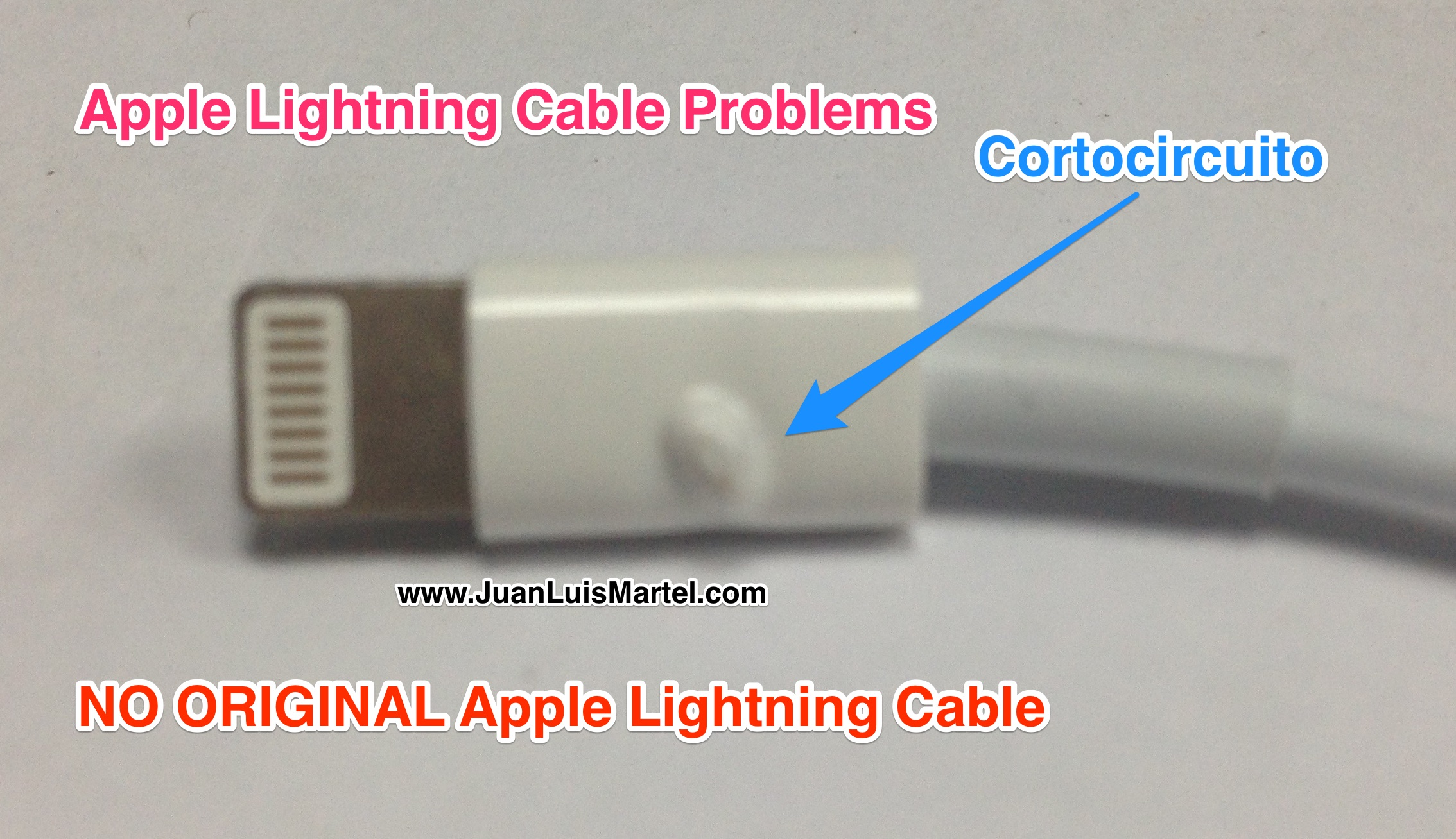 apple lightning connector problems incendiado