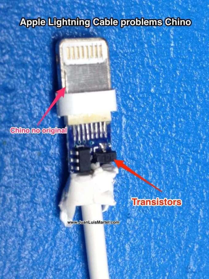 fake apple lightning connector problems