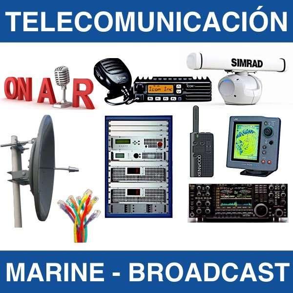 reparacion emisoras radares antenas barcos mantenimiento telecomunicación fm broadcast