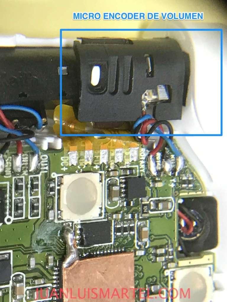 Nokia BH-111 encoder de volumen