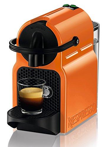 Nespresso DeLonghi Inissia EN 80O - cafetera de cápsulas, 19 bares, compacta, apagado automático, color summer sun