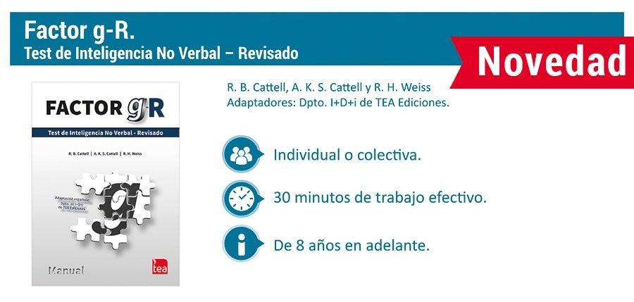 factor-g-r -  Catedra Abierta de Psicologia y Neurociencias