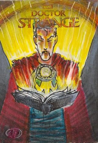 Juan Navarro Upperdeck Dr Strange Cards 017 - Doctor Strange