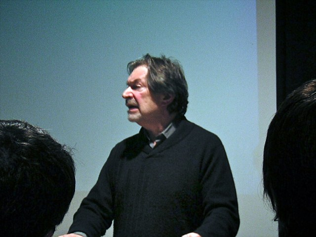 Robert Sklar at the 2004 Cinema Studies Conference