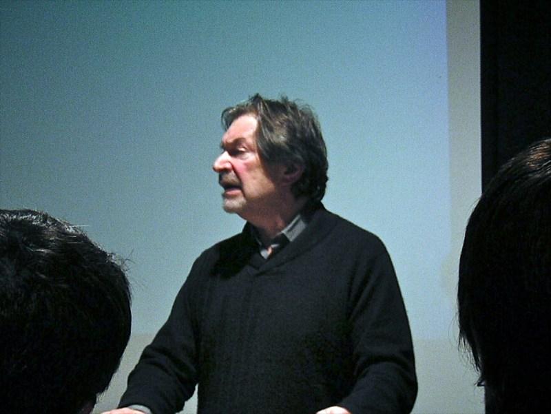 Robert Sklar at the 2004 Cinema Studies Conference