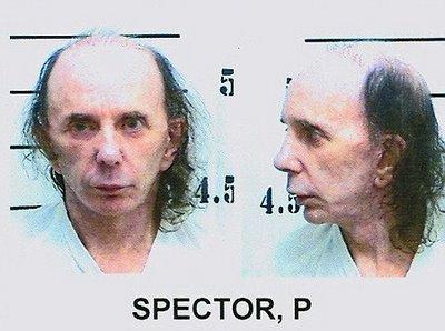 Phil Spector mugshot 2009