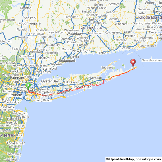 Greenpoint to Montauk