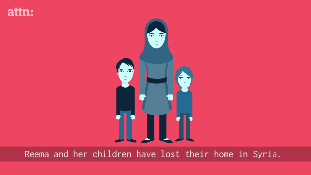 The video explains the screening process through Reema and her children.