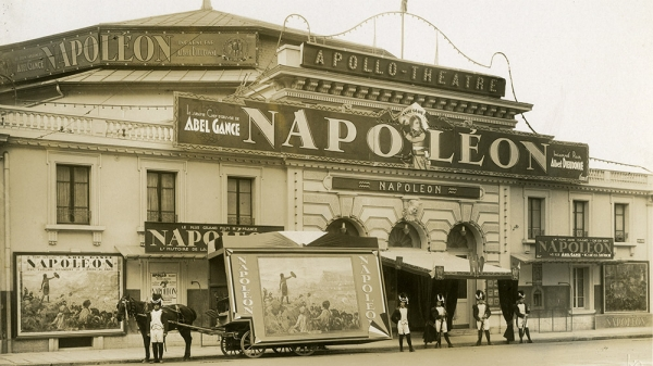 Abel Gance's Napoleon Playing at Apollo Theater
