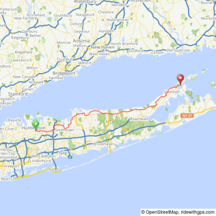 North Fork Ride to Greenport