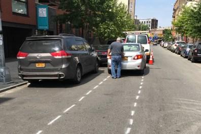 Blocked Bike Lane
