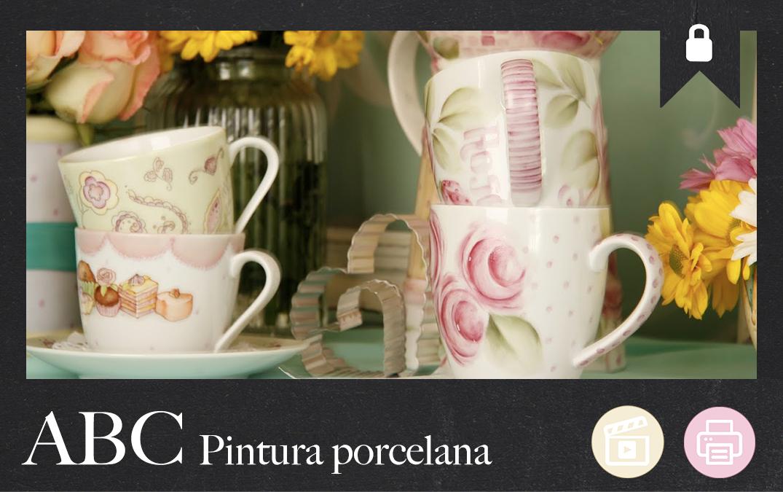 ABC Pintura sobre Porcelana