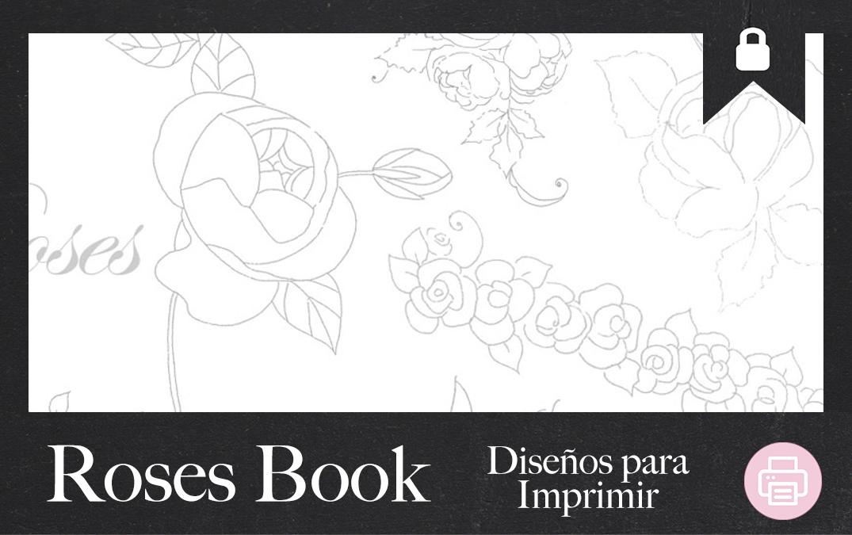 Cuadernillo imprimible de Rosas JPR