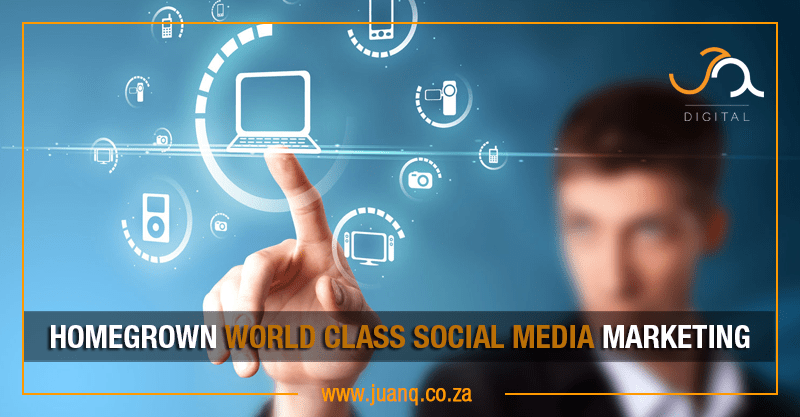 Homegrown world class Social Media consulting in Gauteng